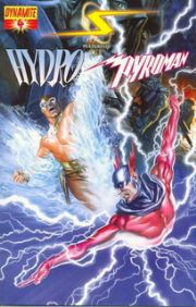 Project Superpowers #4 (2008) Alex Ross Dynamite Entertainment comic book